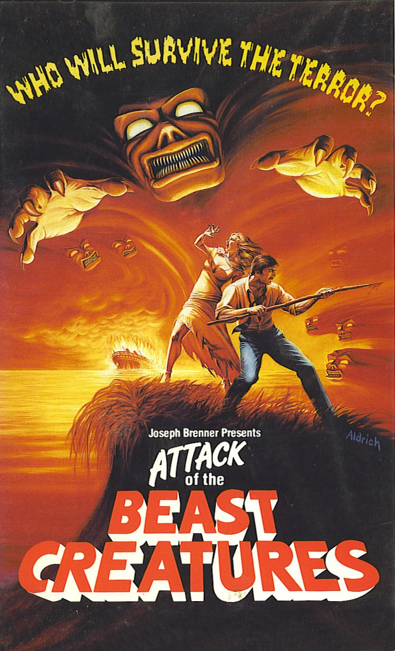 Attack of the Beast Creatures VHS Front3