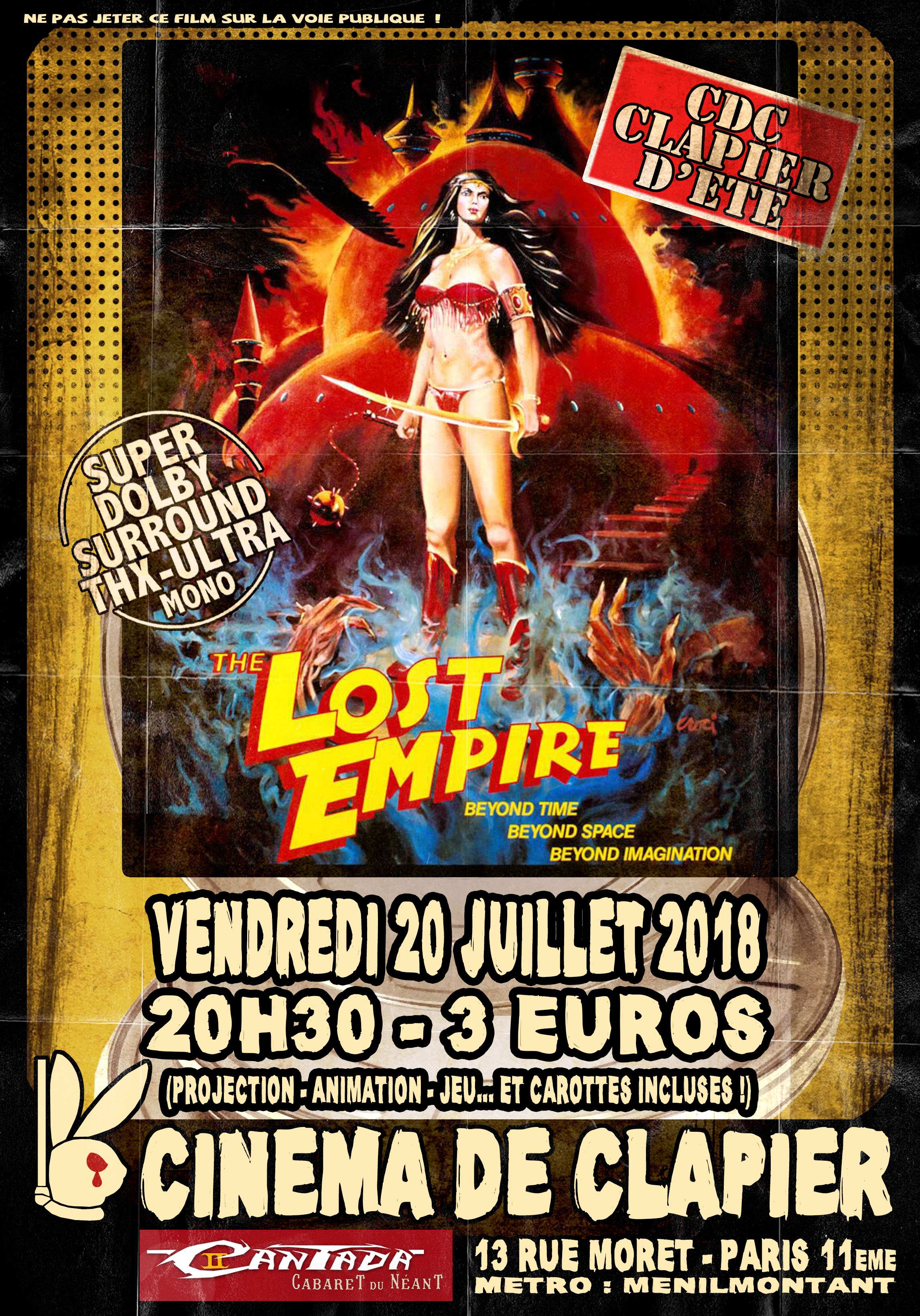 Flyer 42 Lost Empire